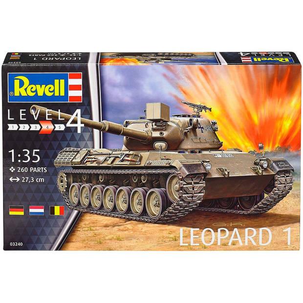 Leopard 1 Revell - schaal 1 -35 - Bouwpakket Revell Militair