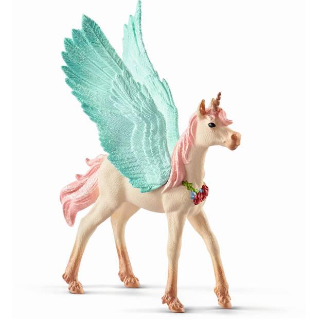 Eenhoorn Pegasus Schleich - Speelfiguur Schleich Bayala -70575