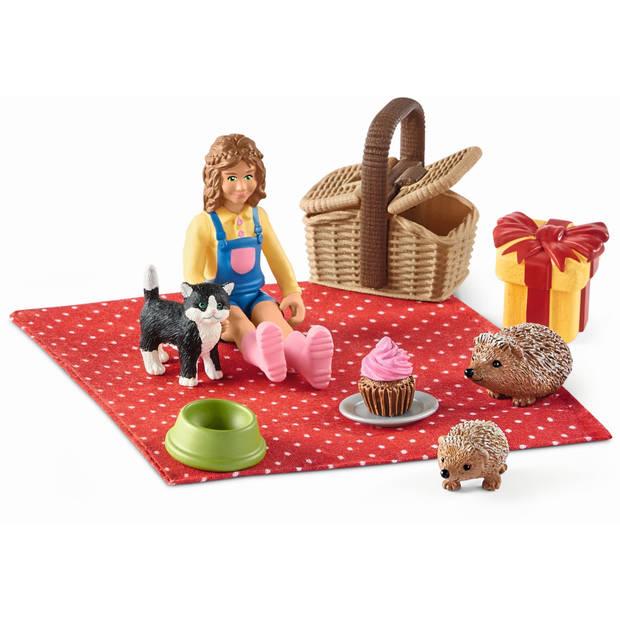 Verjaardag picnic Schleich - Speelfiguur Schleich Bayala -42426