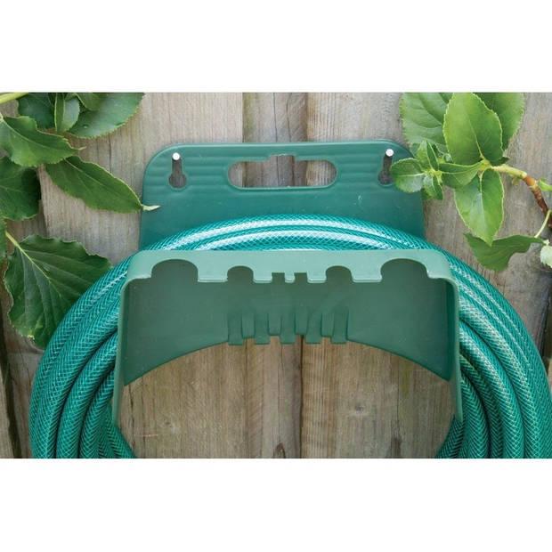 Groene tuinslang houder 23 cm