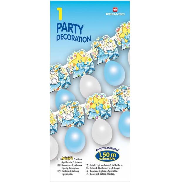 Pegaso ballonnenslinger jongen 150 cm blauw