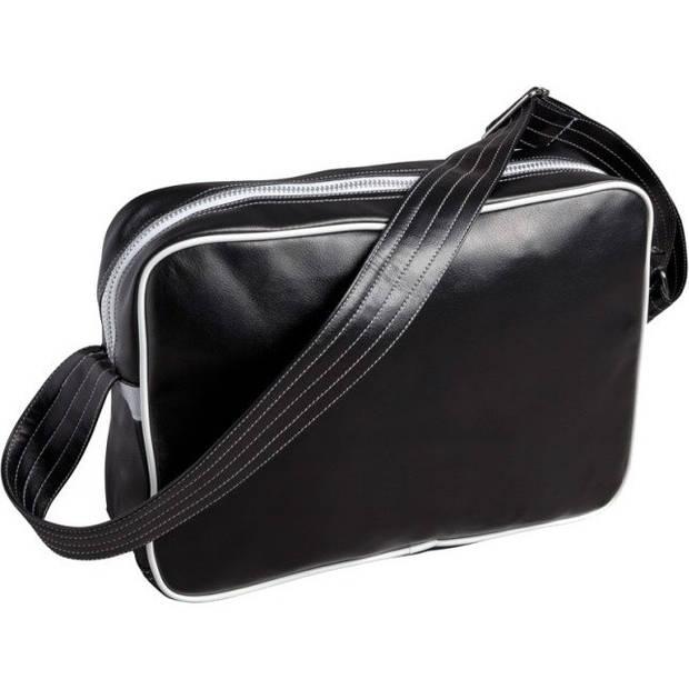 adidas schoudertas MMA 25,5 liter zwart