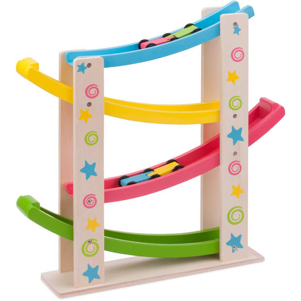Jodelbaan New Classic Toys: sterren 44x42x9 cm