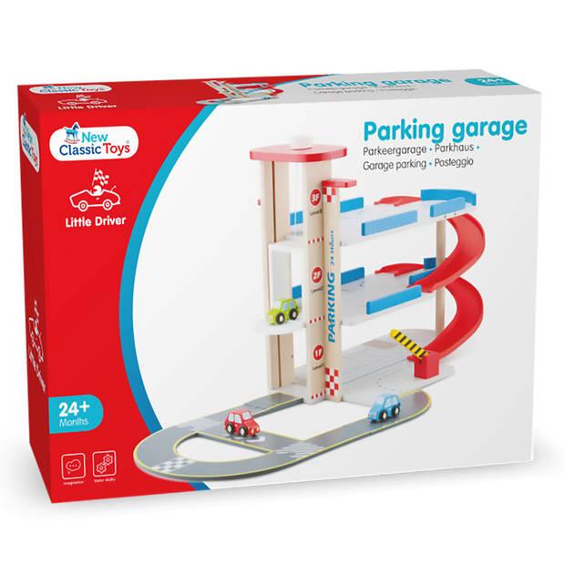 Parkeergarage New Classic Toys 58x30x42 cm