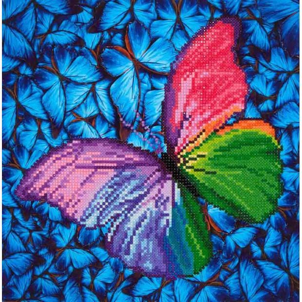 Flutter by Pink Diamond Dotz - 31x31 cm - Diamond Painting