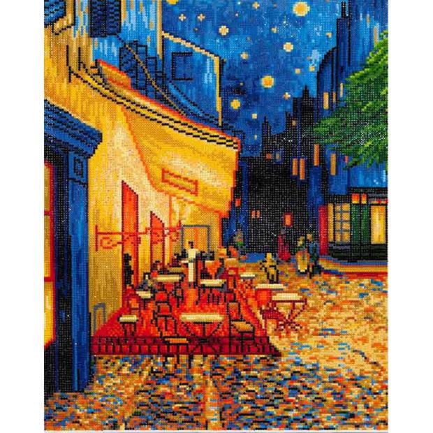 Cafe at Night Van Gogh Diamond Dotz - 52x42 cm - Diamond Painting