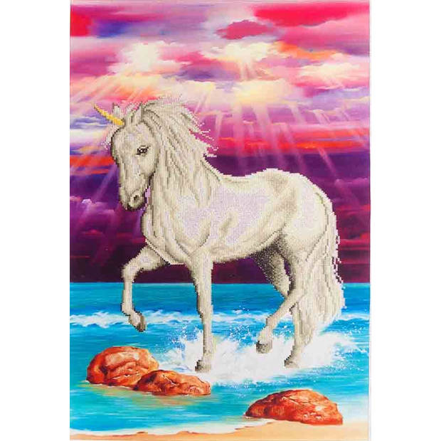 Magical Unicorn Diamond Dotz - 51x77 cm - Diamond Painting