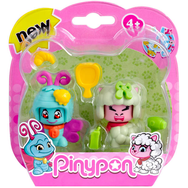Huisdier Pinypon 2-pack - Speelfiguur Pinypon