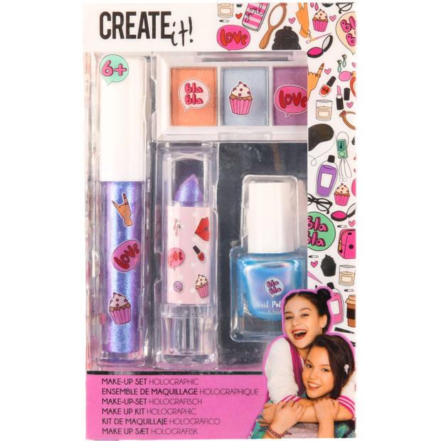 Make-up set Create It 4-delig