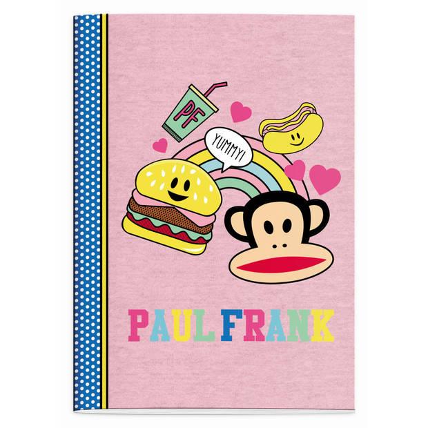 Schrift Paul Frank Girls burger A4 geruit