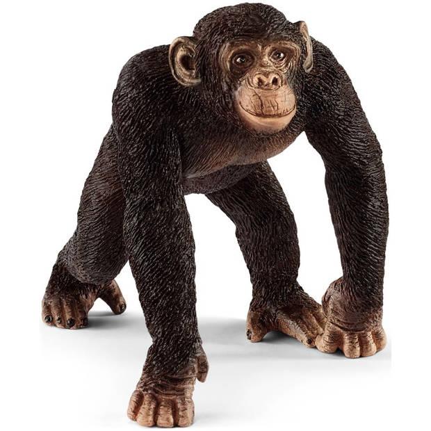 Mannelijke chimpansee Schleich - Speelfiguur Schleich Wild Life -14817