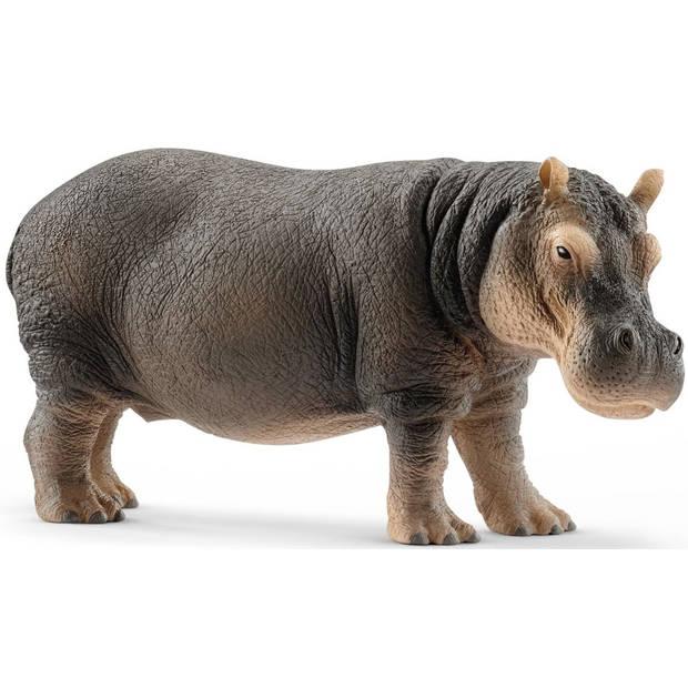 Nijlpaard Schleich - Speelfiguur Schleich Wild Life -14814