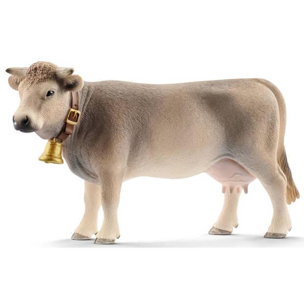 Braunvieh koe Schleich - Speelfiguur Schleich Farm World -13874