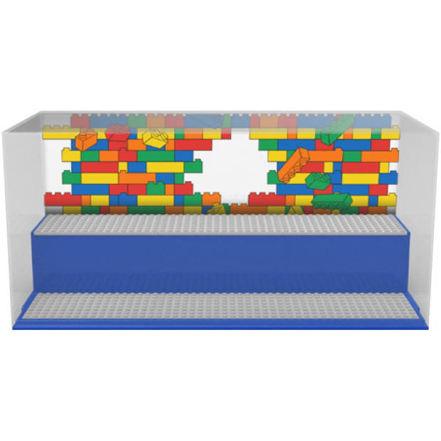 Opbergbox LEGO play & display blauw