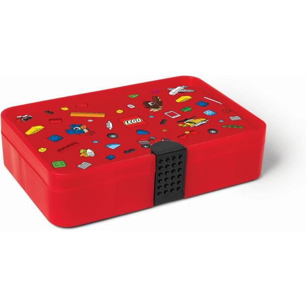 Sorteerkoffer LEGO rood