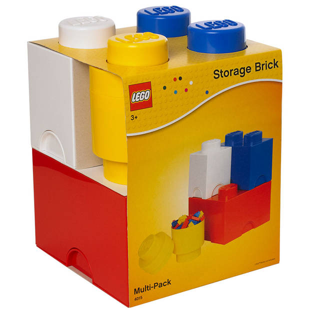 Opbergbox Lego: set 4-delig