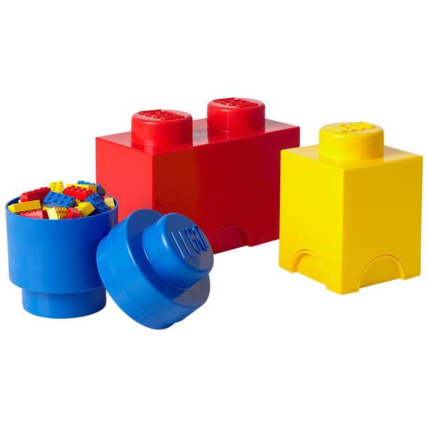 Opbergbox Lego: set 3-delig