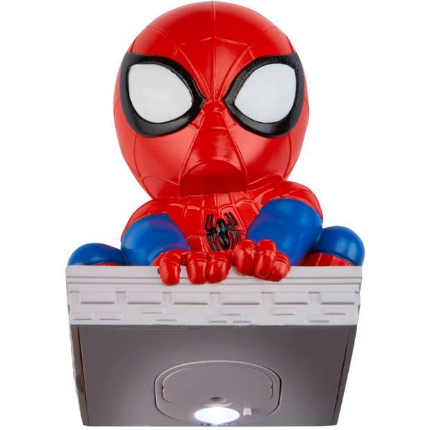 Zak- en nachtlamp Spider-Man GoGlow - Speelgoedzaklamp Marvel Spiderman