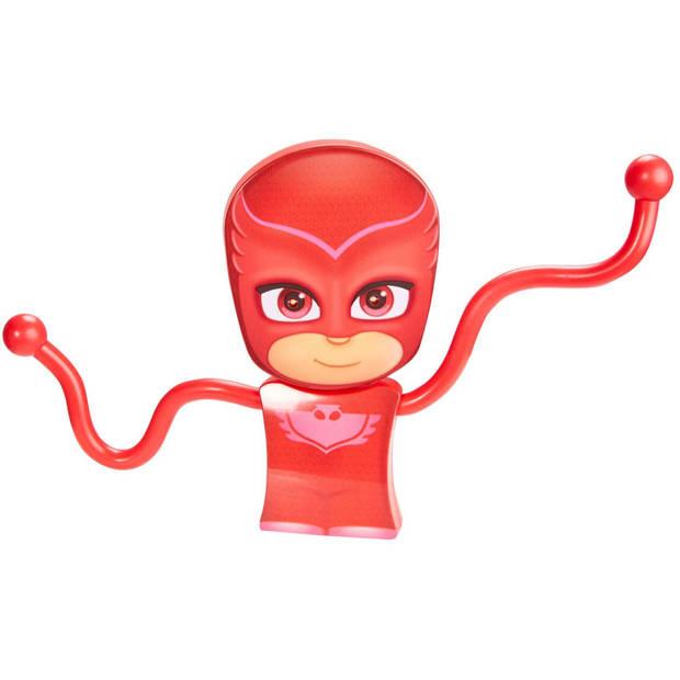 Zak- en nachtlamp PJ Masks GoGlow flexible rood