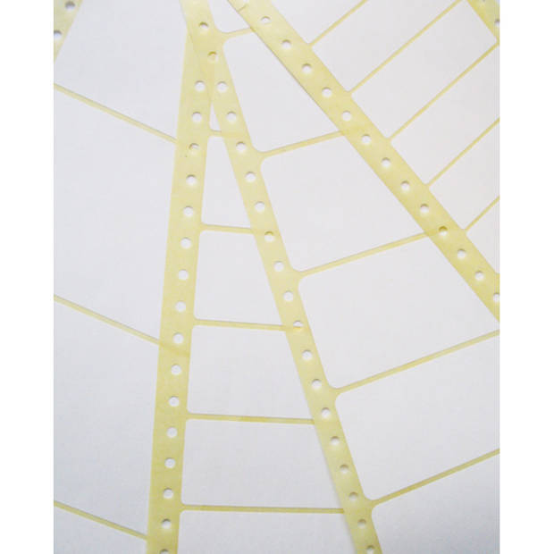 compiteretiket Avery 89x36,1mm wit 3-baans 12000 etiketten