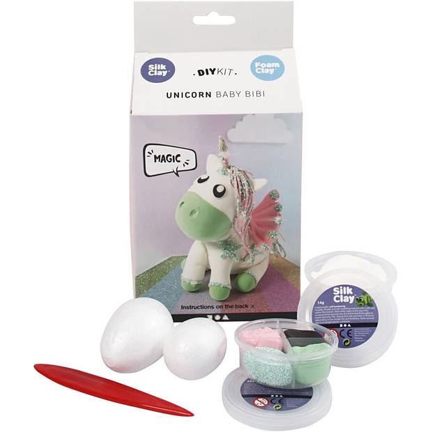 Silk Clay knutselset Funny Friends Baby Bibi 8-delig