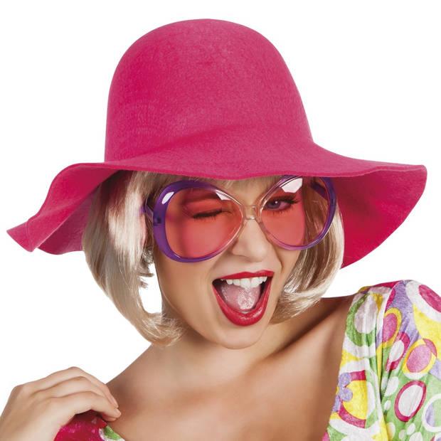 Boland flaphoed dames roze one size