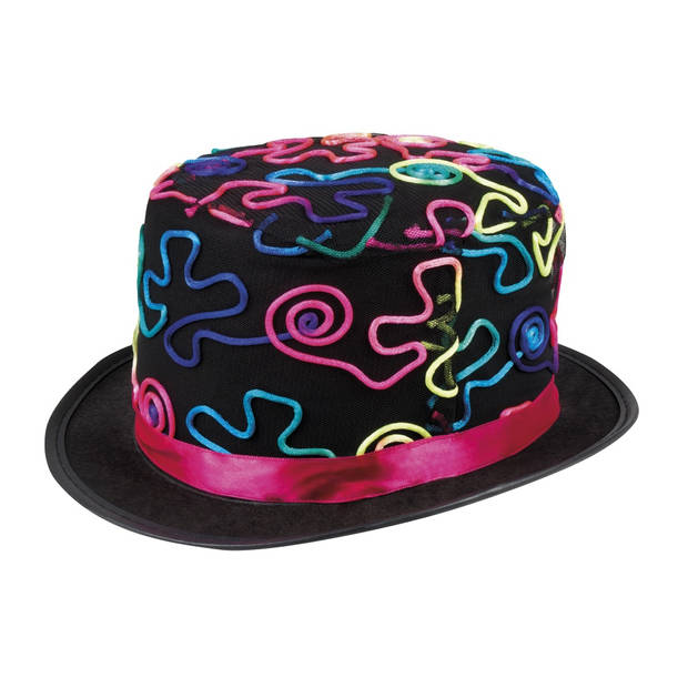 Boland hoed Colour Fun unisex zwart