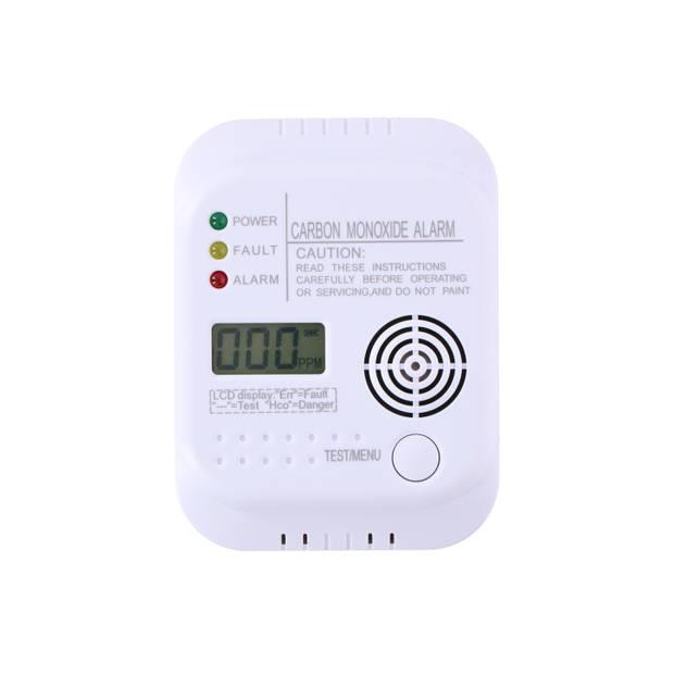 Grundig Koolmonoxidemelder - Sensor - Display - Temperatuurweergave - Testknop - 85 dB