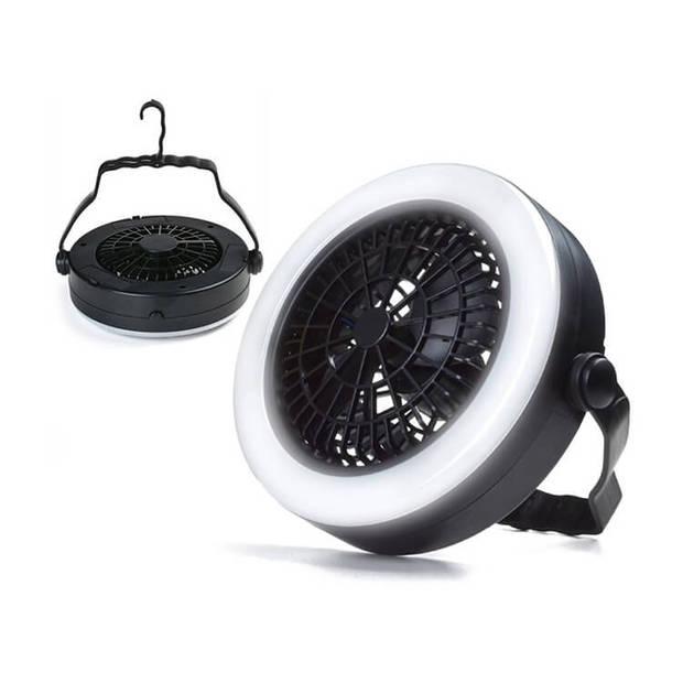 Benson ventilator met led verlichting - Met haak om aan het plafond te bevestingen