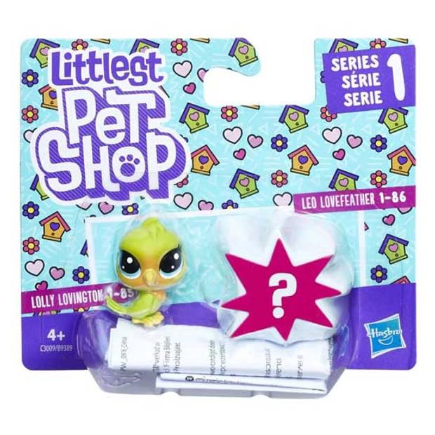Hasbro Littlest pet Shop Lolly Lovington 2-delig