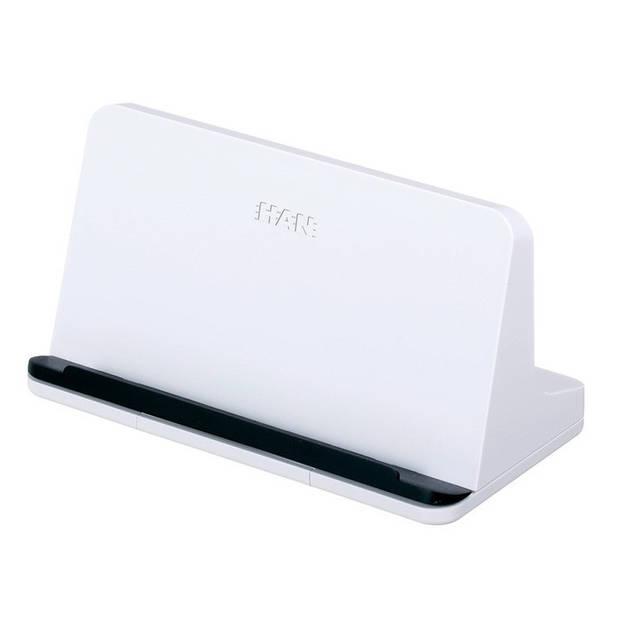 tablet standaard HAN Smart Line 135x72x74mm wit
