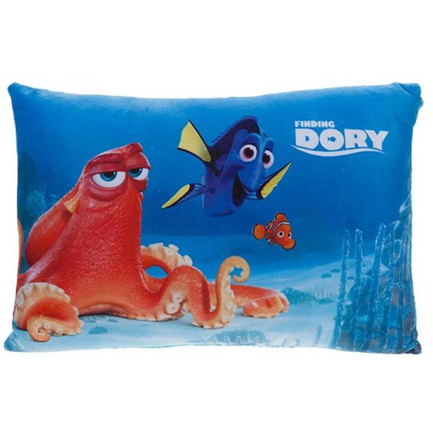 Kamparo kussen Finding Dory: Octopus 40 x 26 cm blauw