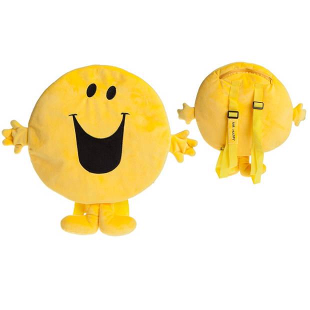 Kamparo pluchen rugzak 2 liter geel