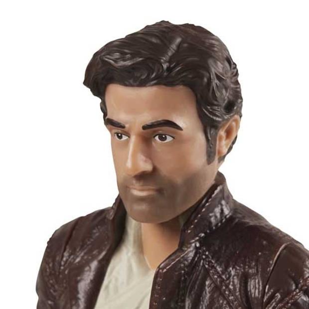 Disney The Last Jedi actiefiguur Poe Dameron 10 cm bruin