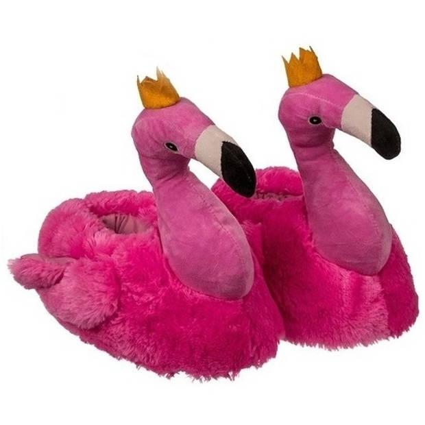 Flamingo pantoffels voor dames 37/38 - Sloffen - volwassenen