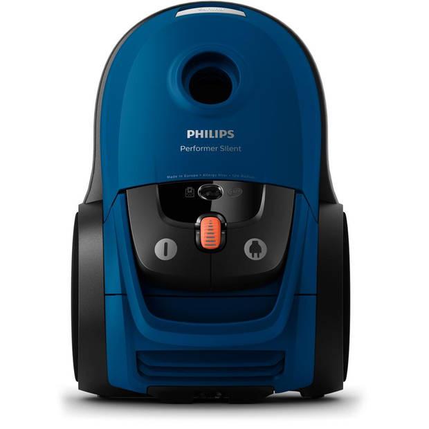 Philips stofzuiger Performer Silent FC8779/09 - blauw/zwart