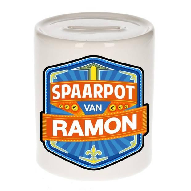 Kinder spaarpot voor Ramon - Spaarpotten