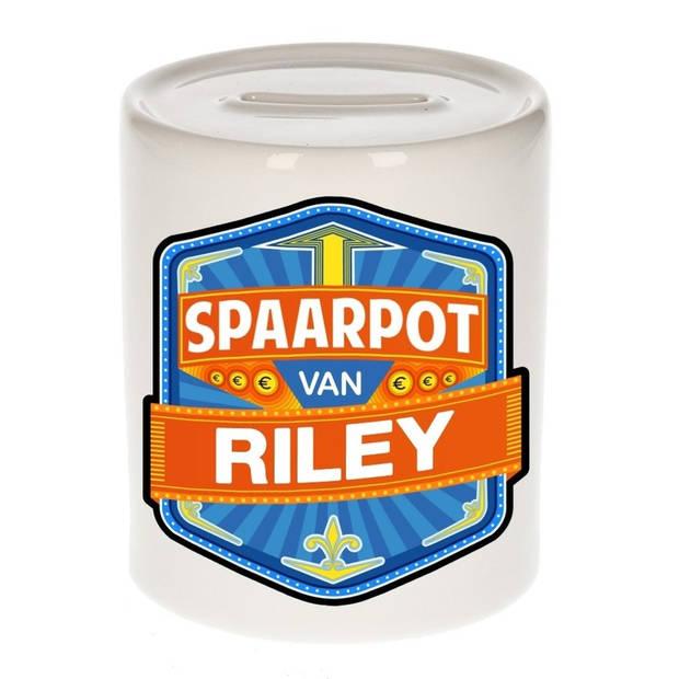 Kinder spaarpot voor Riley - Spaarpotten