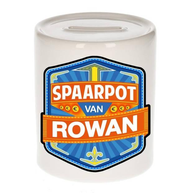 Kinder spaarpot voor Rowan - Spaarpotten