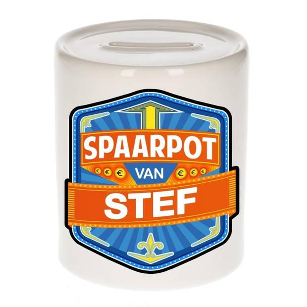 Kinder spaarpot voor Stef - Spaarpotten