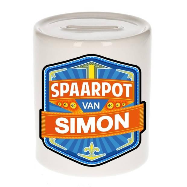 Kinder spaarpot voor Simon - Spaarpotten