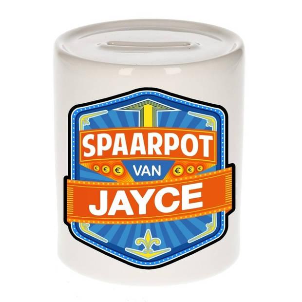 Kinder spaarpot voor Jayce - Spaarpotten