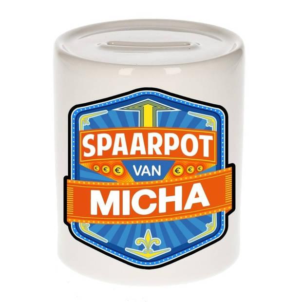 Kinder spaarpot voor Micha - Spaarpotten