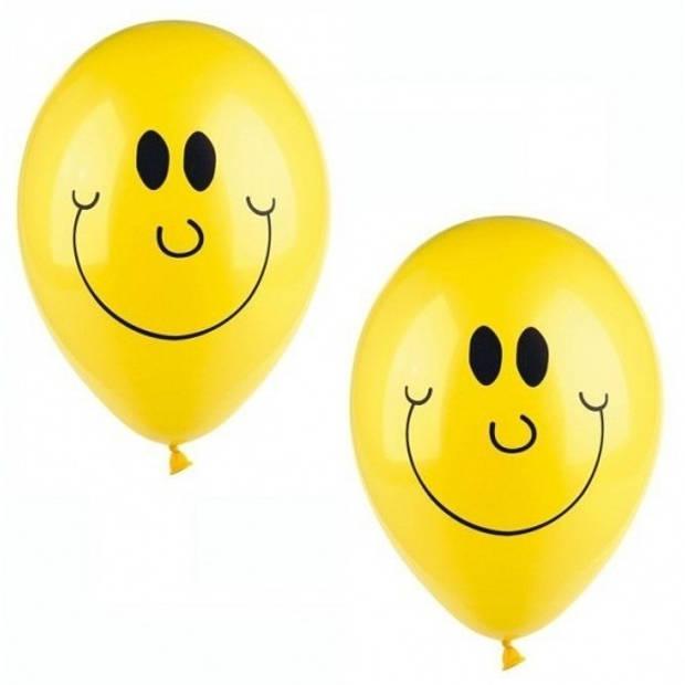 Smiley ballonnen 50 stuks - Ballonnen