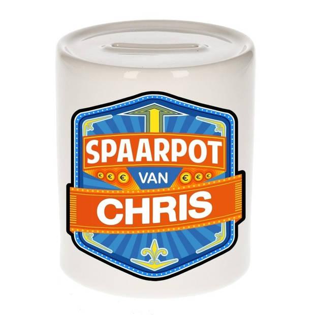 Kinder spaarpot voor Chris - Spaarpotten