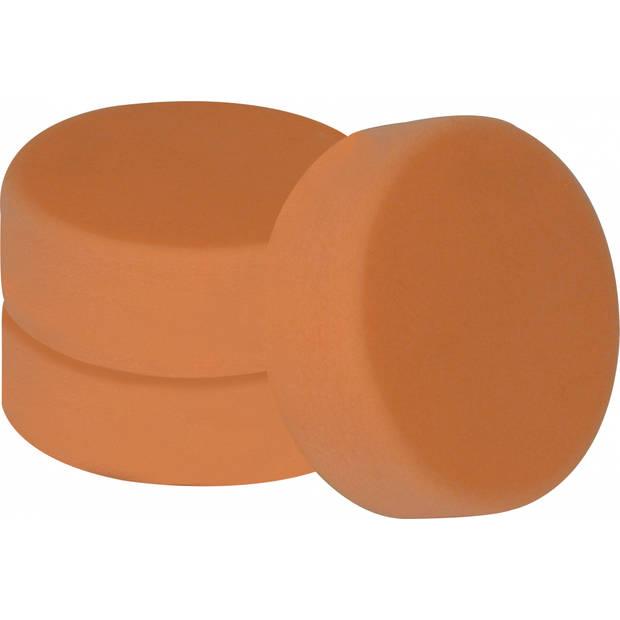 Carpoint polijstsponzen zacht 150 mm oranje 3 stuks