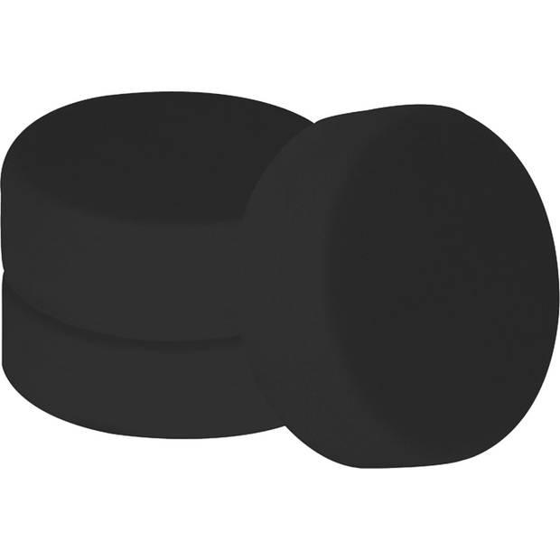 Carpoint polijstsponzen extra zacht 150 mm zwart 3 stuks
