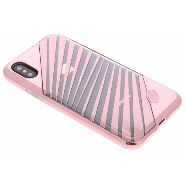 Roze Rays Revel Lux Cover voor de iPhone Xs / X