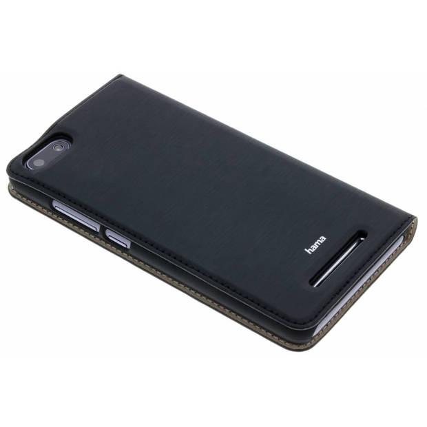 Zwarte Slim Booklet Case voor de Wiko Lenny 3