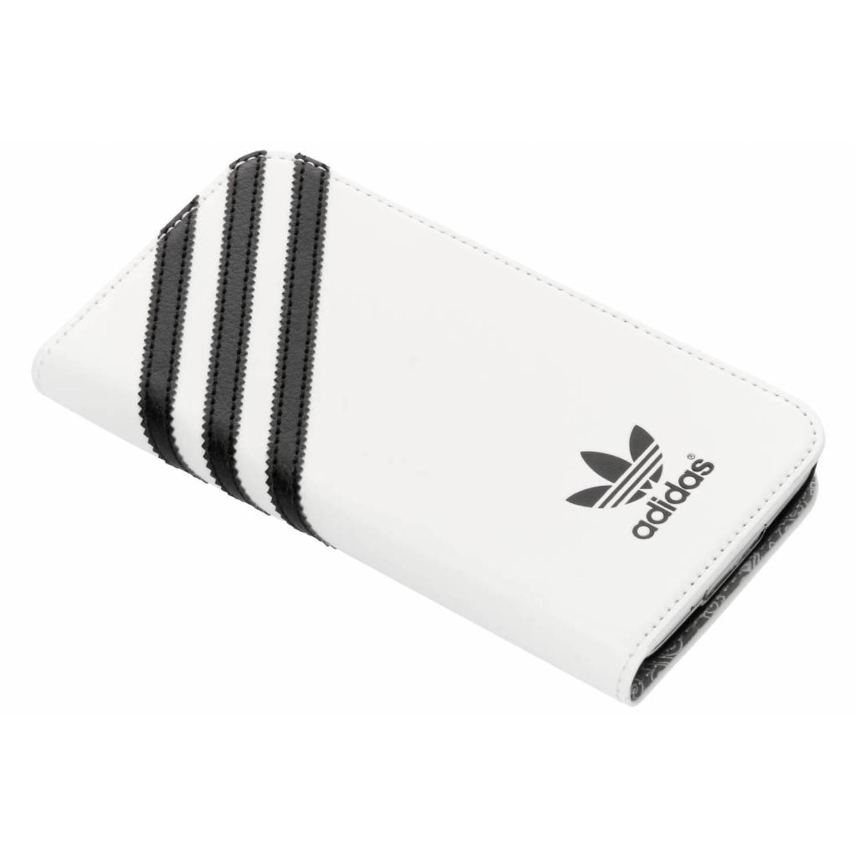 Witte Booklet Case voor de Samsung Galaxy S5 (Plus) / Neo